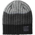 Block Rib Slouch Hat