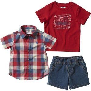 Denim Short Set - 3-pack - Infant Boys