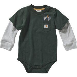 Long-Sleeve Pocket T-Shirt Bodyshirt - Infant Boys