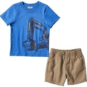 Wrap T-Shirt Short Set - Toddler Boys