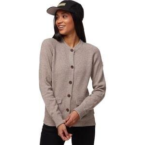 Greenland Re-Wool Cardigan Sweater - Womens