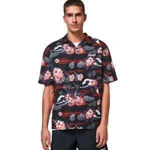 Tropic Bloom Button Down Shirt - Mens