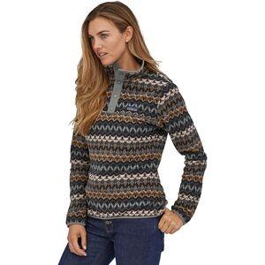 Micro D Snap-T Fleece Pullover - Womens