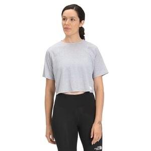 Vyrtue Short-Sleeve Boxy Crop Top - Womens