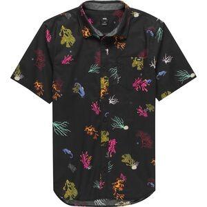 Reality Coral Short-Sleeve Shirt - Mens