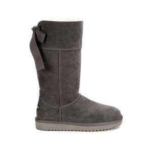 Koolaburra By Ugg Womens Andrah Tall Fur Boot - Grey