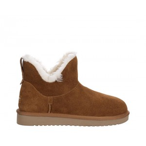 Koolaburra By Ugg Womens Euna Mini Fur Boot - Tan