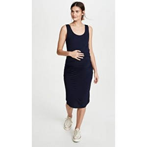 Ruched Maternity Tank Dress