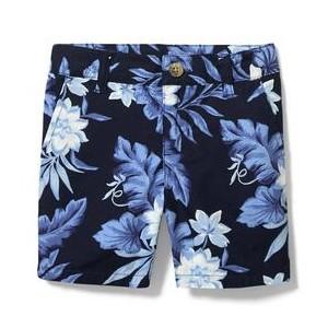Tropical Floral Poplin Short