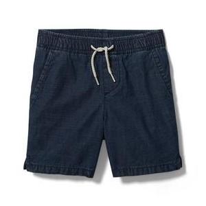 Textured Pull-On Short