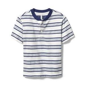 Striped Henley Tee