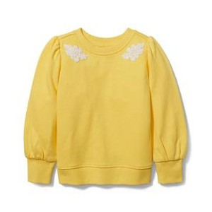 Floral Applique Sweatshirt