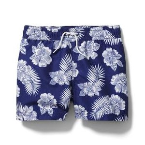 Tropical Floral Swim Trunk