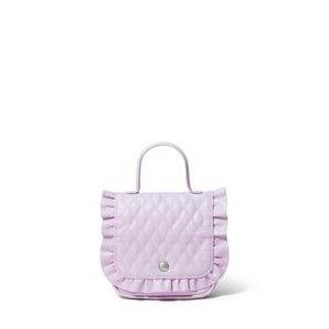 Quilted Ruffle Purse