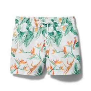 Tropical Swim Trunk