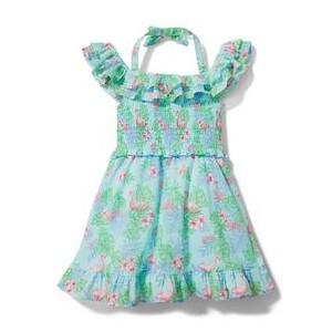 Flamingo Cold Shoulder Dress