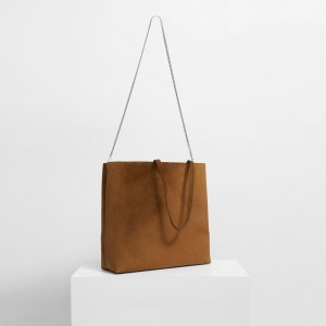 Simple Tote in Suede