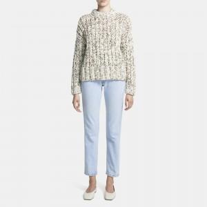 Hand-Knit Sweater in Wool