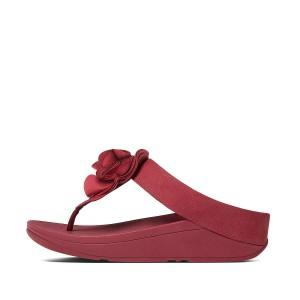 Womens FLORRIE Nubuck Toe-Thongs