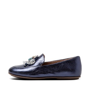 Womens Lena Leather Loafers