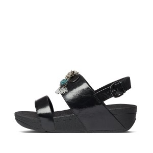Womens Rosa Leather Back-Strap-Sandals
