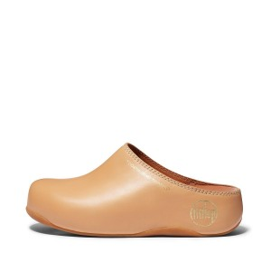 SHUV Limited Edition Leather Clogs Microwobbleboard Standard