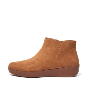Womens Sumi Suede Ankle-Boots