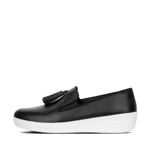 Womens SUPERSKATE Leather Loafers