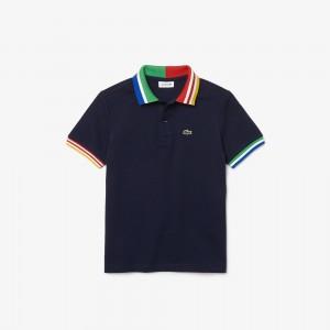 Boys' Cotton Pique Polo