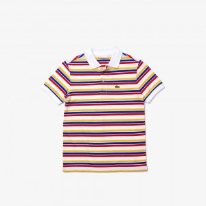Boys' Multicolor Stripe Polo