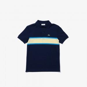 Boys' Contrast Stripe Polo
