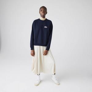 Women's Lacoste x National Geographic Cotton Fleece Sweatshirt