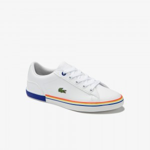 Childrens Lerond Synthetic Lace-up Trainers