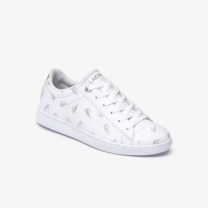 Childrens Carnaby Metallic Crocodile Sneaker