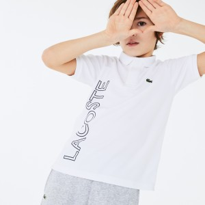 Boys SPORT Branded Breathable Pique Polo Shirt