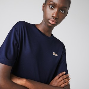 Women's Lacoste x National Geographic Cotton T-shirt