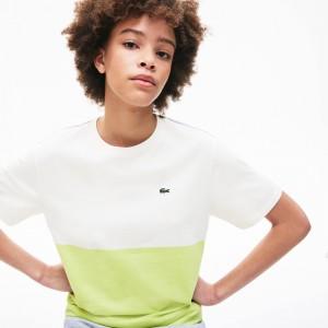 Women's Cotton Color-Block T-Shirt