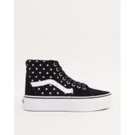 Vans SK8-Hi Platform 2.0 suede sneakers in polka dot