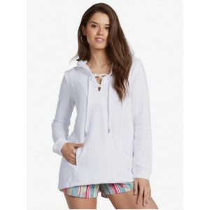 Pearling Oversized Poncho Hoodie