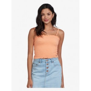 Hot Out Smocked Tube Top
