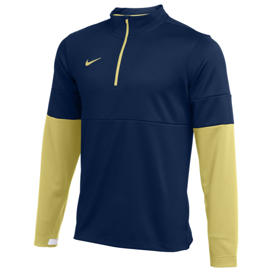 Nike Team Authentic Therma 1/2 Zip Top - Mens