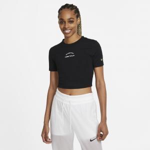 Nike Fierce Short Sleeve Crop T-Shirt - Womens
