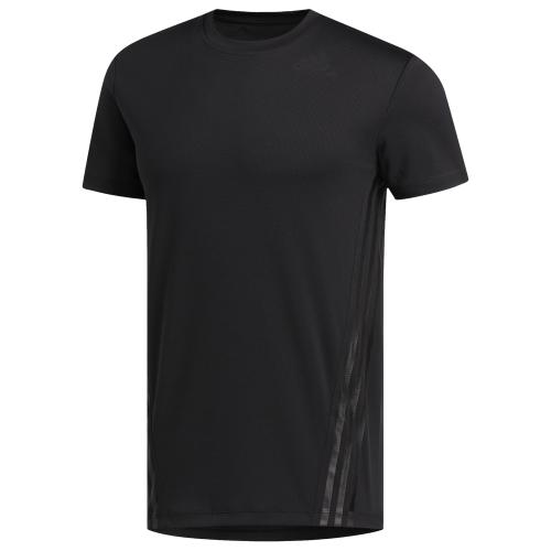 adidas Aeroready 3 Stripe T-Shirt - Mens