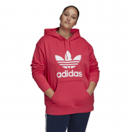 adidas Originals Plus Size Trefoil Hoodie - Womens