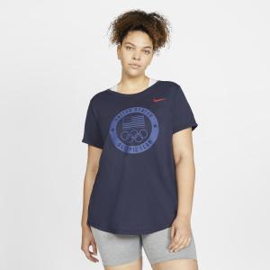 Nike DB OLY USOC Stealth Tee - Womens