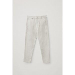 DROPPED CROTCH TAILORED CHINOS