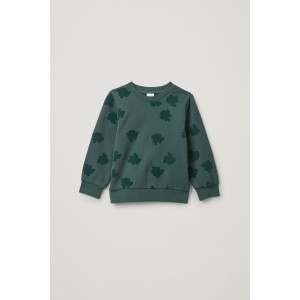 COTTON PRINTED SWEATSHIRT