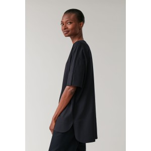 ORGANIC COTTON TOP WITH BONDED DETAIL