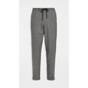 Kirio Houndstooth Pleated Pants