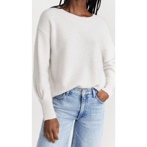 Boiled Boat Neck Cashmere Sweater